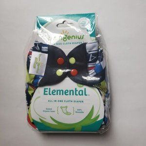 bumGenius Elemental OneSize Cloth Diaper NEW